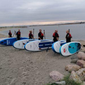 Udlejning af paddleboard