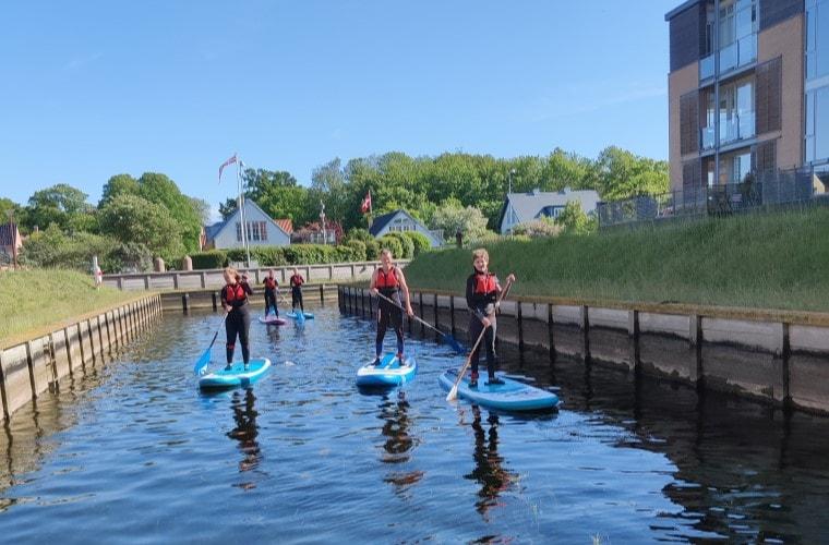 Paddleboard kursus i Frederikssund