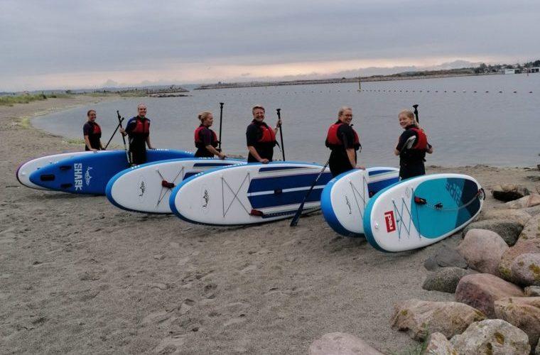paddleboard kursus