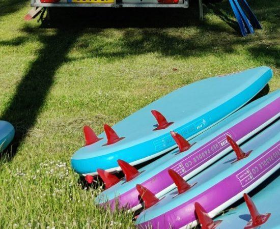 Paddleboard leje